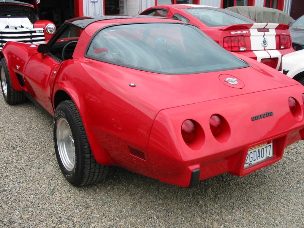 photographie de la voiture présentée